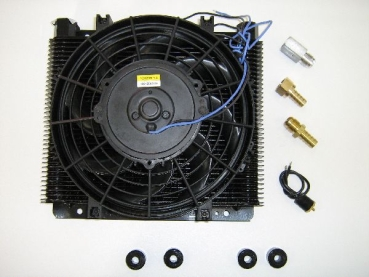 Oil cooler with fan 12V