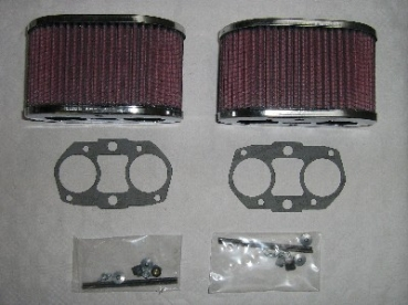 K+N Air Filter Weber IDF 100mm Set (2 p/c)