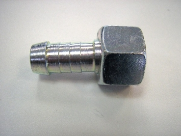 Barbet Fitting Straight for 1/2 inch oil tube 1/2 inch